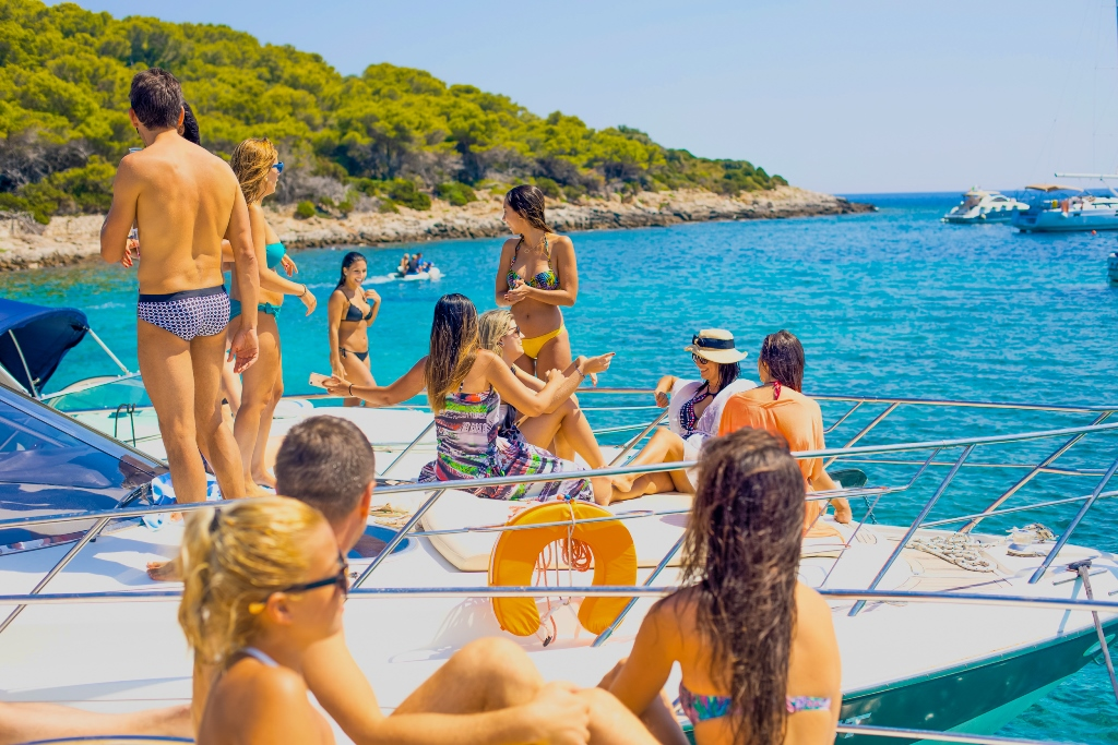 Hvar Luxury Yacht Stag Weekend in Croatia