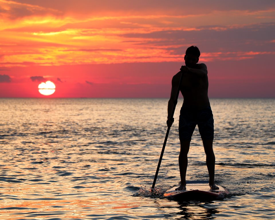 Stand-up paddle tour