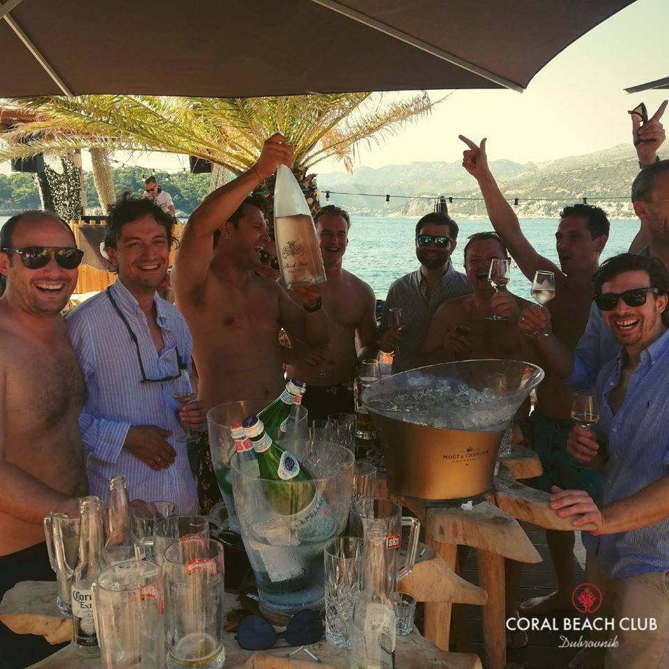 coral beach club stag croatia 14