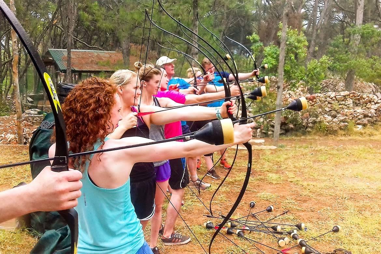 battle archery stag croatia 1