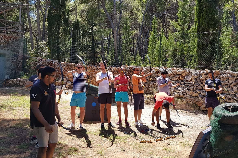 battle archery stag croatia 3