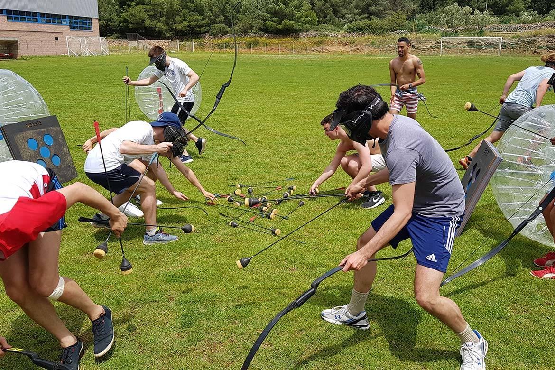 battle archery stag croatia 5