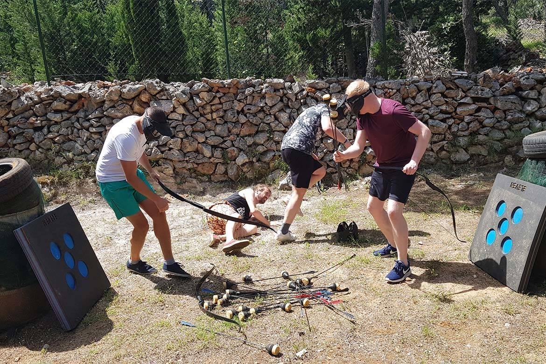 battle archery stag croatia 8