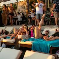 beach party hula hula stag croatia 12