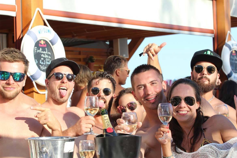 beach party split stag croatia 4