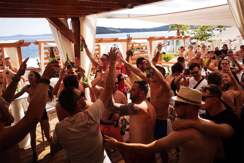beach party split stag croatia 6
