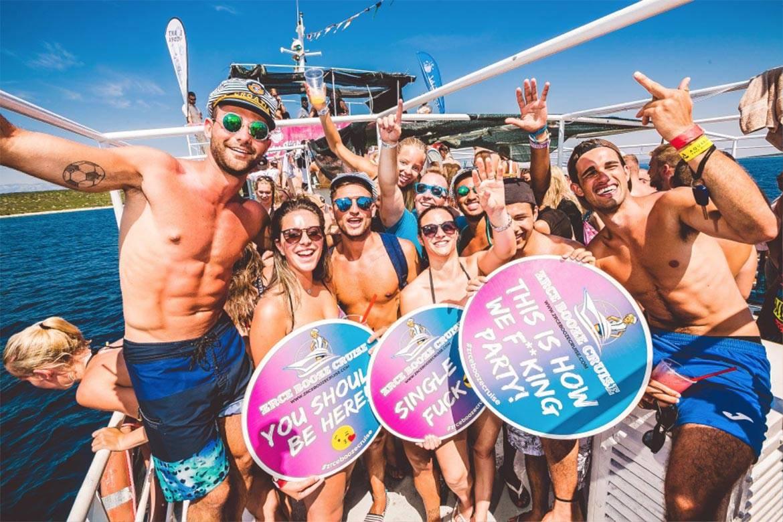 booze cruise stag croatia 6