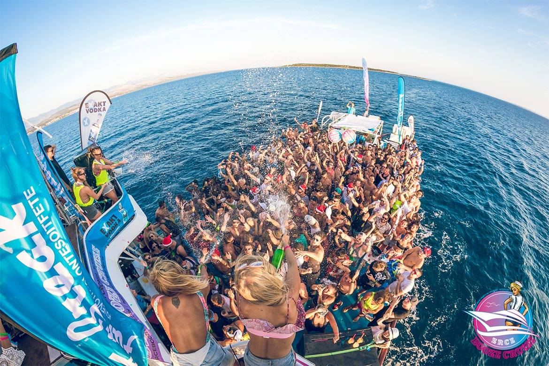 booze cruise stag croatia 9