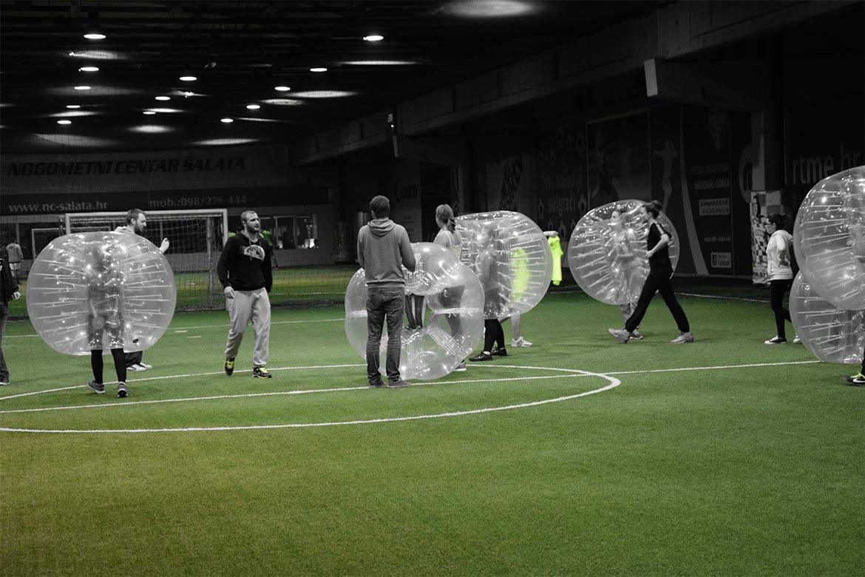 bubble football stag croatia 3