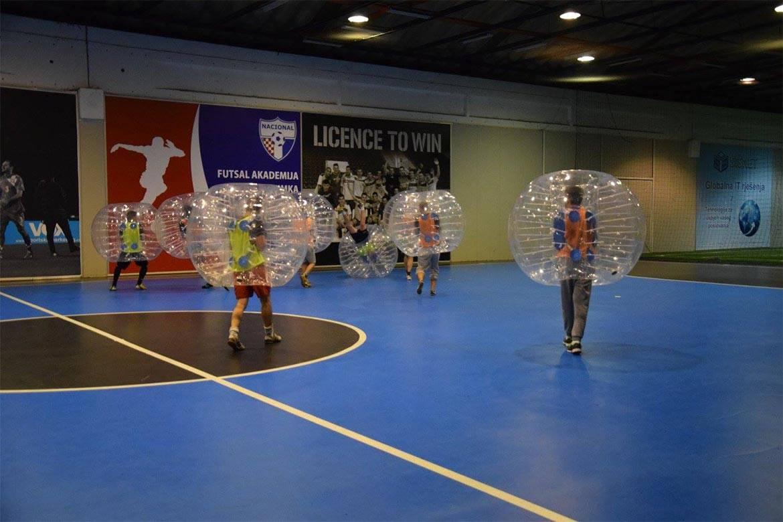 bubble football stag croatia 5