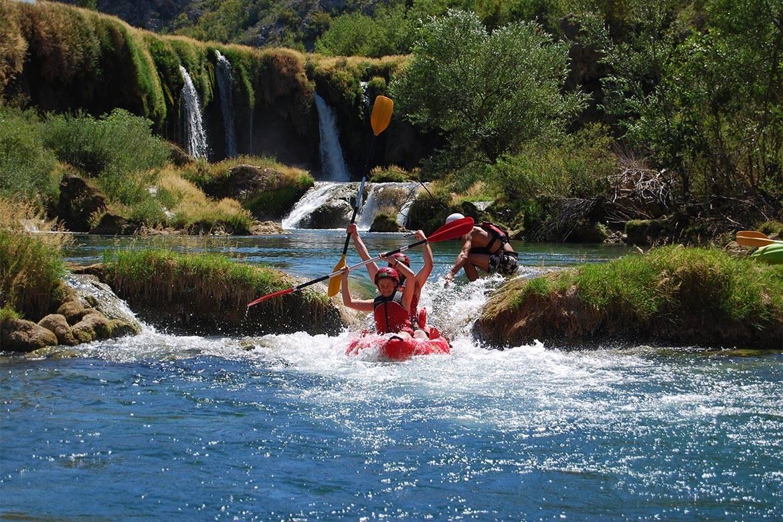 canoe safari stag croatia 1