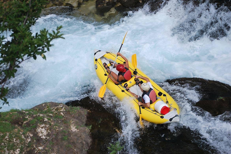 canoe safari stag croatia 2