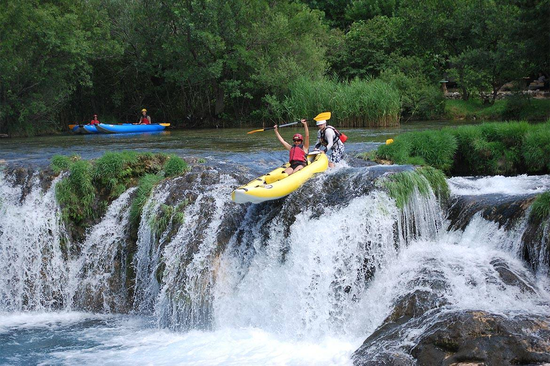 canoe safari stag croatia 3