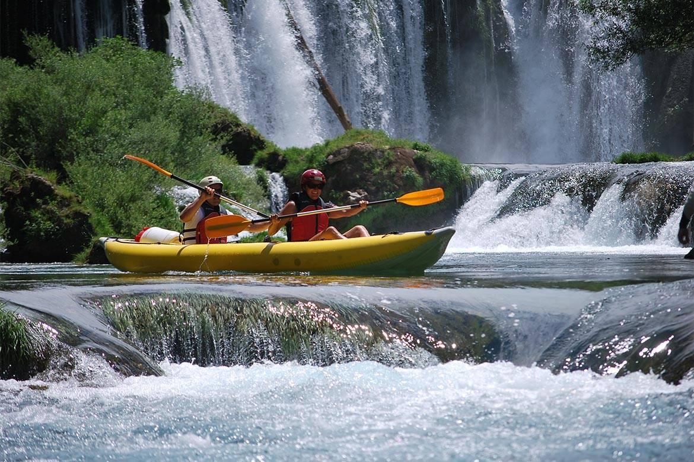 canoe safari stag croatia 9