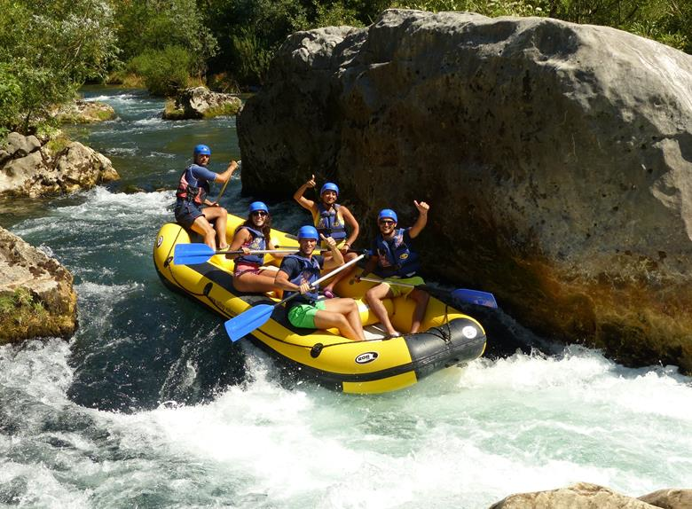 Rafting on the river Cetina 1 23199