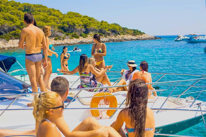 speedboat trip split and blue lagoon 19