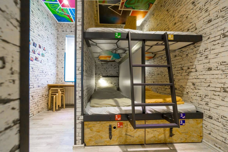 Dorm style rooms