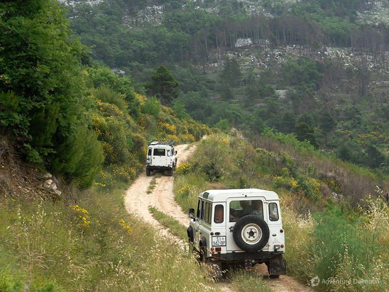 1 Jeep safar Mosor  River Cetina