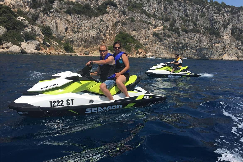 jet ski ride stag croatia 5