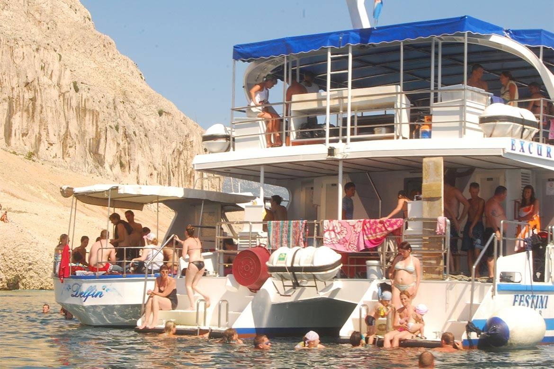 pag boat trip stag croatia 10