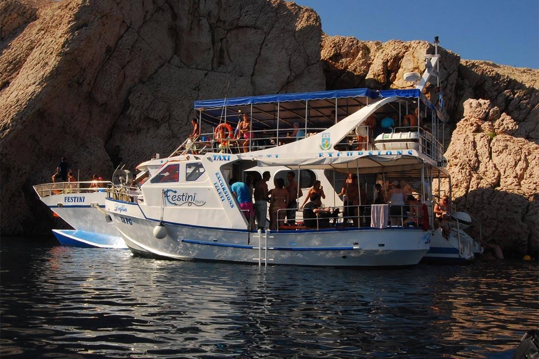 pag boat trip stag croatia 11