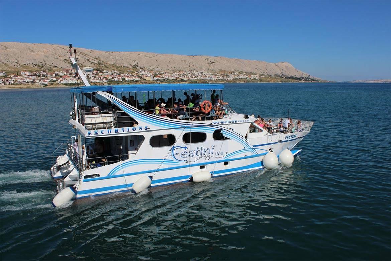pag boat trip stag croatia 12