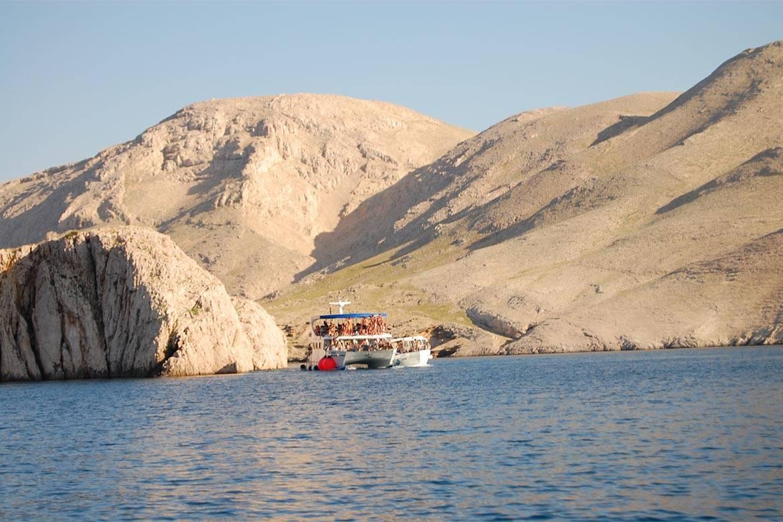 pag boat trip stag croatia 5