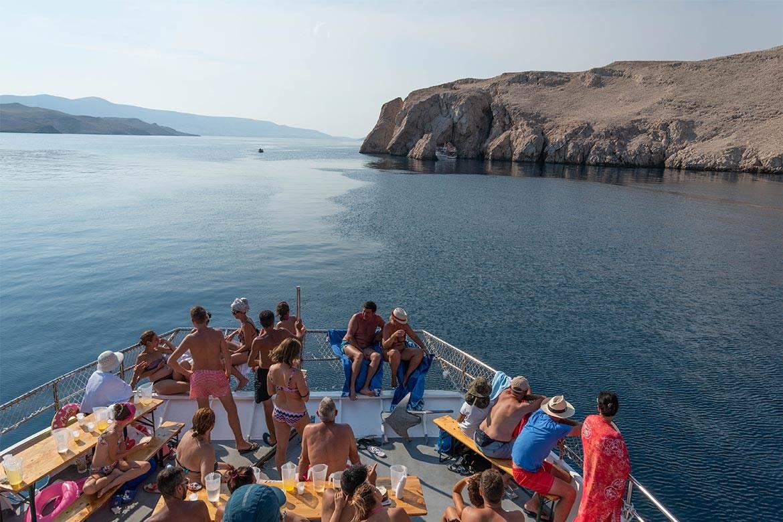 pag boat trip stag croatia 6
