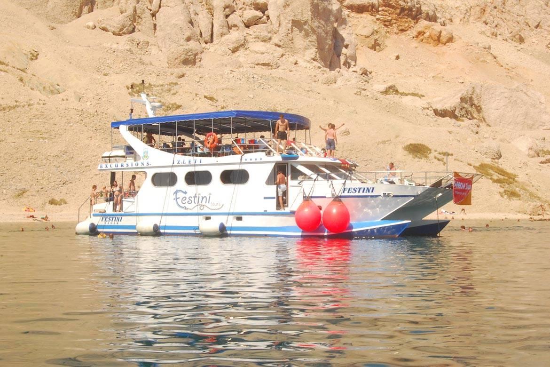 pag boat trip stag croatia 8