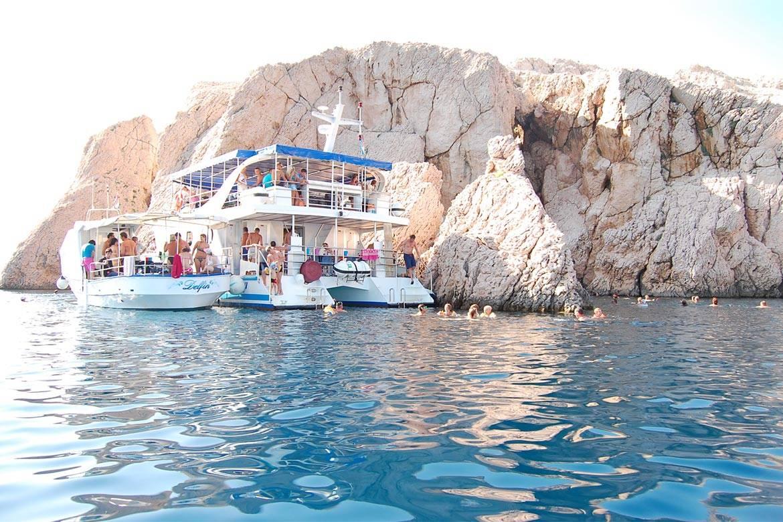 pag boat trip stag croatia 9