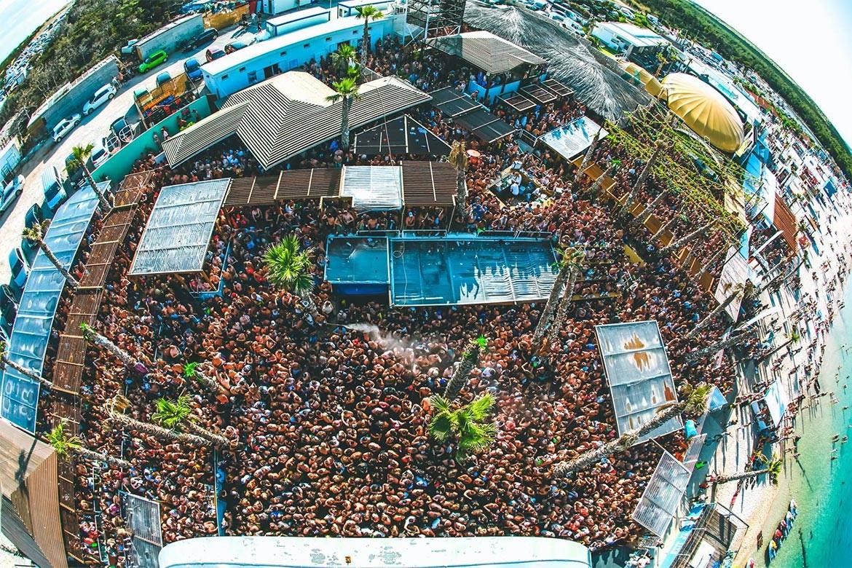 pool party at papaya club stag croatia 3
