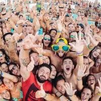 pool party at papaya club stag croatia 6