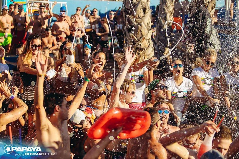 pool party at papaya club stag croatia 7