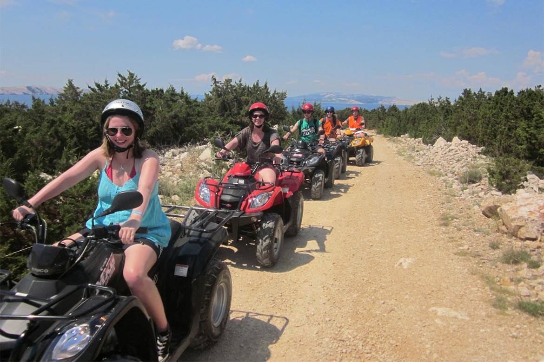 quad adventure zrce stag croatia 1