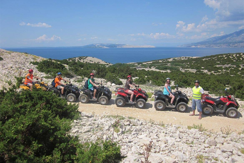 quad adventure zrce stag croatia 2