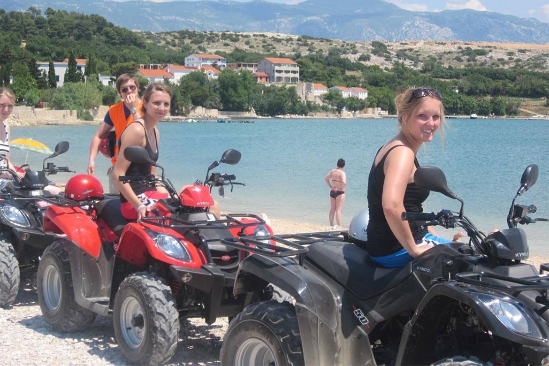 quad adventure zrce stag croatia 3
