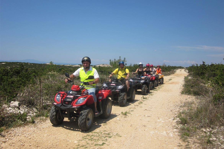 quad adventure zrce stag croatia 4