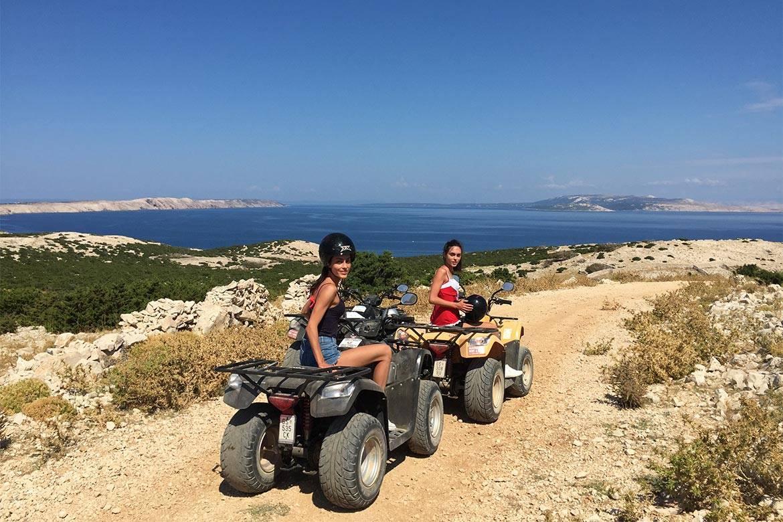 quad adventure zrce stag croatia 5