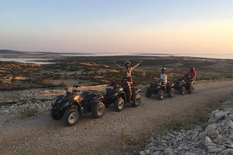 quad adventure zrce stag croatia 7