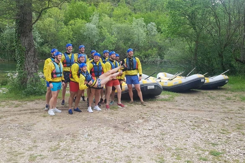 rafting stag croatia 1