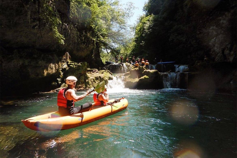 River Kayaking or Canoeing