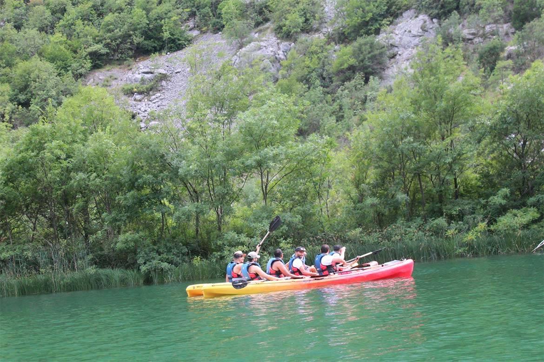 river kayaking or canoeing stag croatia 1