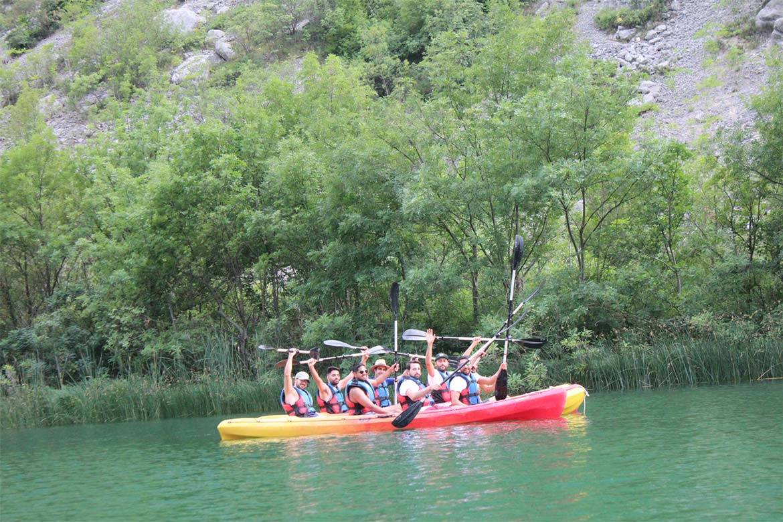 river kayaking or canoeing stag croatia 2