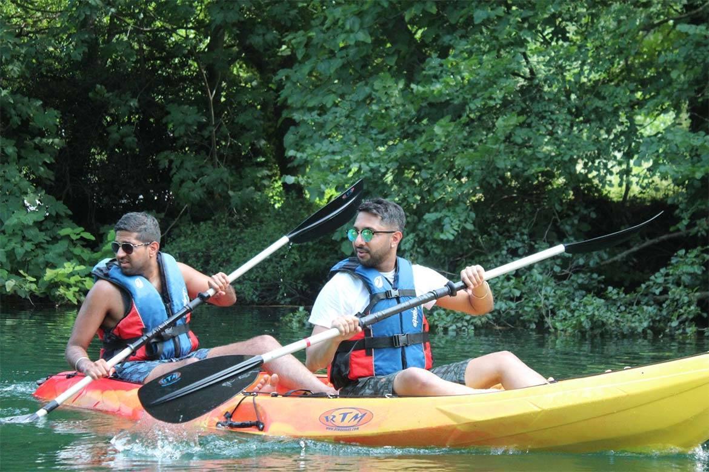 river kayaking or canoeing stag croatia 3