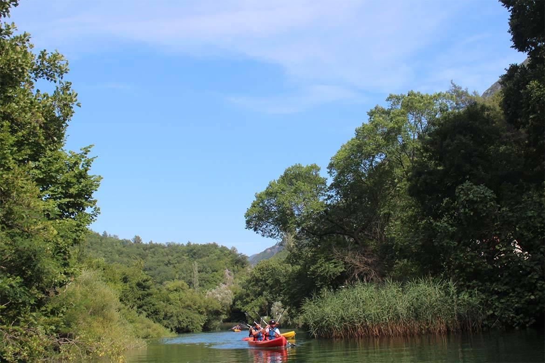 river kayaking or canoeing stag croatia 4