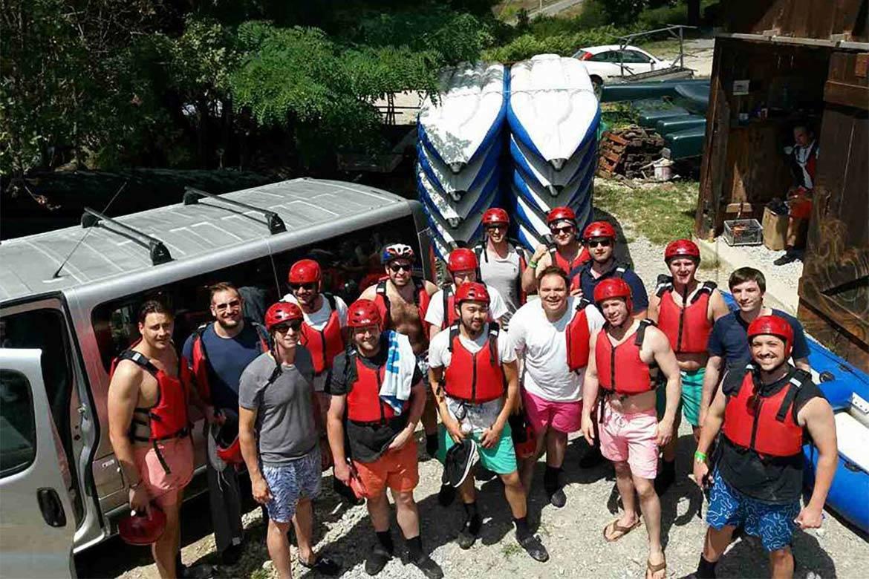 river kayaking or canoeing stag croatia 5