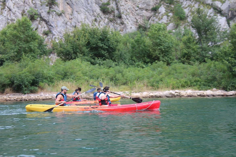 river kayaking or canoeing stag croatia 6
