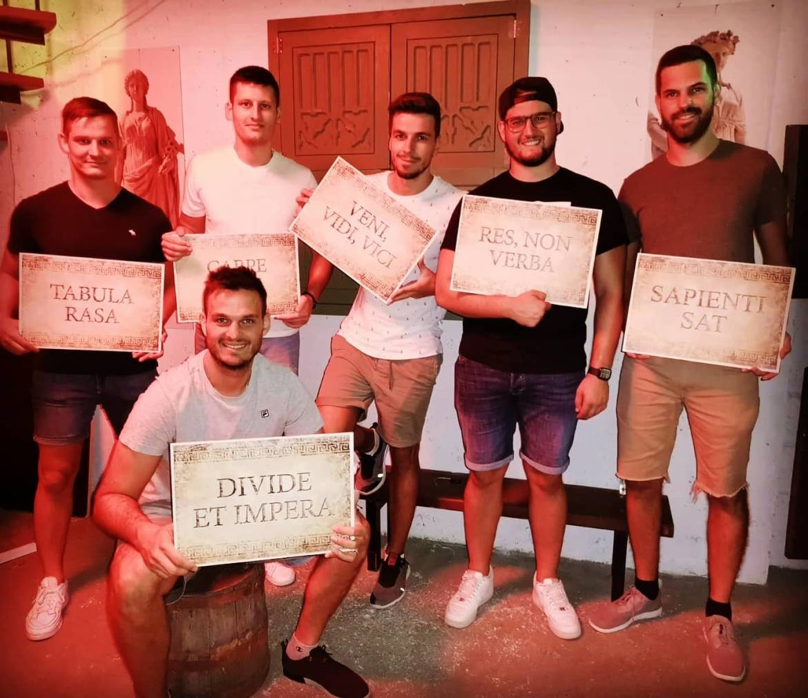 Escape room   Stag do weekend in Croatia