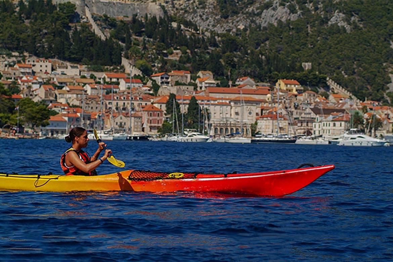 sea kayaking hvar stag croatia 1