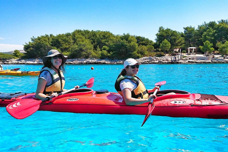 sea kayaking hvar stag croatia 12